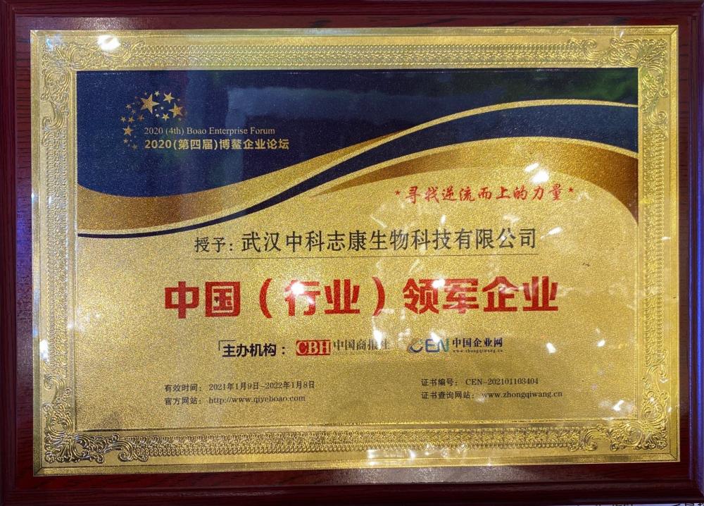 博鳌论坛中国(行业)领军企业